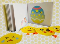クラフト絵本『Egg Party』