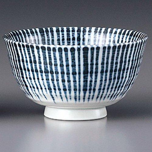 [みやび街道1-531] 千段十草 リム型茶漬碗