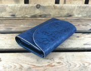 <img class='new_mark_img1' src='//img.shop-pro.jp/img/new/icons5.gif' style='border:none;display:inline;margin:0px;padding:0px;width:auto;' />Paisley Indigo Three Fold Wallet(フォールドウォレット)