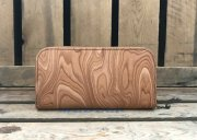 -MAGNET-  Round Fastener Long Wallet(Wood Natural)<img class='new_mark_img2' src='//img.shop-pro.jp/img/new/icons5.gif' style='border:none;display:inline;margin:0px;padding:0px;width:auto;' />