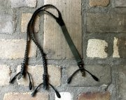 GZ-MLS Leather Suspenders ブラック