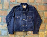 GZ-111MJ-0301 graphzero 16oz JEAN JACKET -GZ111MJ- 針抜き