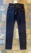 GZ-16STS-04 16oz スーパータイトスリムジーンズ ヘリンボーン(38/40)