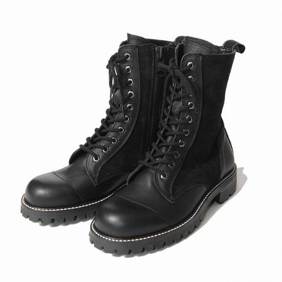 <img class='new_mark_img1' src='https://img.shop-pro.jp/img/new/icons50.gif' style='border:none;display:inline;margin:0px;padding:0px;width:auto;' />VIRGO MILITARIA SPECIAL BOOTS(BLACK)