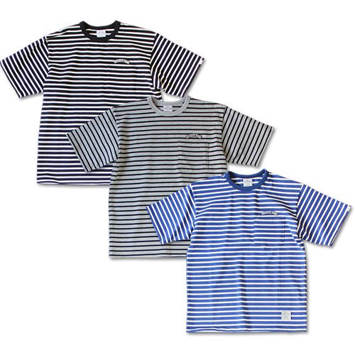 <img class='new_mark_img1' src='//img.shop-pro.jp/img/new/icons12.gif' style='border:none;display:inline;margin:0px;padding:0px;width:auto;' />SEVENTY FOUR BORDER POCKET T-SHIRT