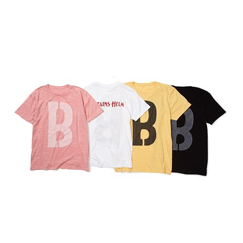 <img class='new_mark_img1' src='https://img.shop-pro.jp/img/new/icons16.gif' style='border:none;display:inline;margin:0px;padding:0px;width:auto;' />CAPTAINS HELM × BYRD #BIG B TEE
