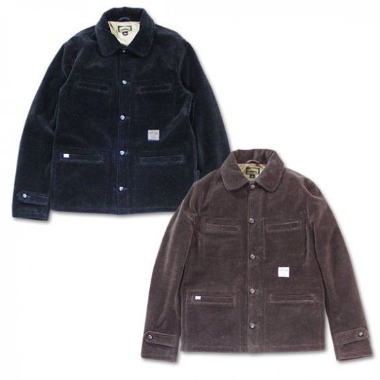 <img class='new_mark_img1' src='//img.shop-pro.jp/img/new/icons12.gif' style='border:none;display:inline;margin:0px;padding:0px;width:auto;' />SEVENTY FOUR MOQUET COVERALL JACKET