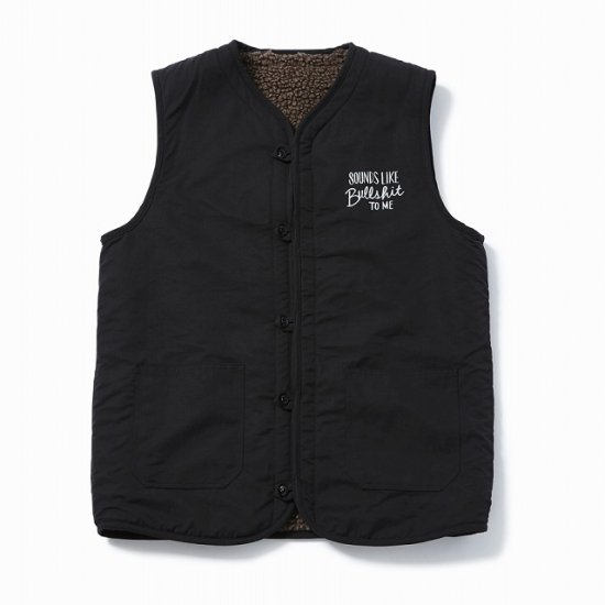 <img class='new_mark_img1' src='https://img.shop-pro.jp/img/new/icons12.gif' style='border:none;display:inline;margin:0px;padding:0px;width:auto;' />TOYPLANE REVERSIBLE BOA VEST