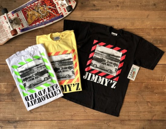 <img class='new_mark_img1' src='https://img.shop-pro.jp/img/new/icons50.gif' style='border:none;display:inline;margin:0px;padding:0px;width:auto;' />STANDARD CALIFORNIA JIMMY'Z × SD Bomb Logo T