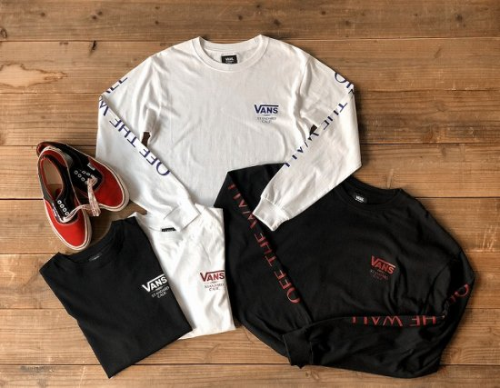 <img class='new_mark_img1' src='https://img.shop-pro.jp/img/new/icons50.gif' style='border:none;display:inline;margin:0px;padding:0px;width:auto;' />STANDARD CALIFORNIA VANS × SD Classic Logo Long Sleeve-T