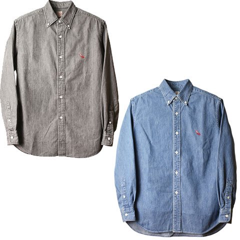 <img class='new_mark_img1' src='https://img.shop-pro.jp/img/new/icons50.gif' style='border:none;display:inline;margin:0px;padding:0px;width:auto;' />STANDARD CALIFORNIA SD Denim Button-Down Shirt Vintage Wash