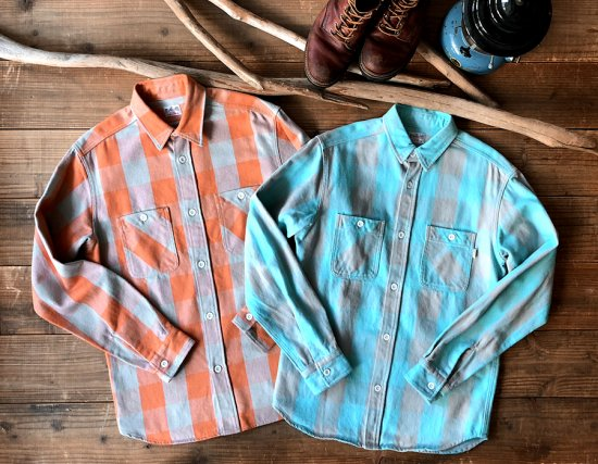 <img class='new_mark_img1' src='https://img.shop-pro.jp/img/new/icons50.gif' style='border:none;display:inline;margin:0px;padding:0px;width:auto;' />STANDARD CALIFORNIA SD Heavy Flannel Check Shirt