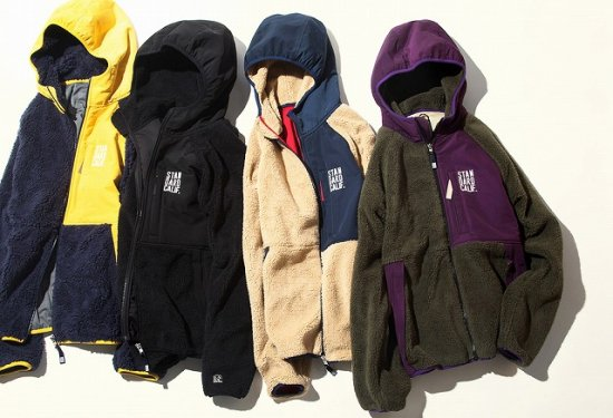 <img class='new_mark_img1' src='https://img.shop-pro.jp/img/new/icons50.gif' style='border:none;display:inline;margin:0px;padding:0px;width:auto;' />STANDARD CALIFORNIA SD Classic Pile Hood Jacket / DLS L+2