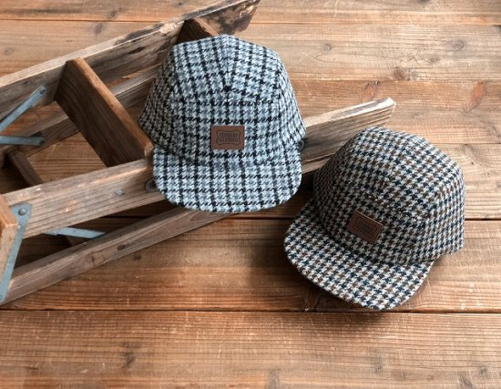 <img class='new_mark_img1' src='https://img.shop-pro.jp/img/new/icons50.gif' style='border:none;display:inline;margin:0px;padding:0px;width:auto;' />STANDARD CALIFORNIA SD Harris Tweed Camp Cap