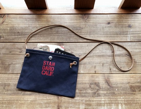 <img class='new_mark_img1' src='https://img.shop-pro.jp/img/new/icons50.gif' style='border:none;display:inline;margin:0px;padding:0px;width:auto;' />STANDARD CALIFORNIA SD Made in USA Canvas Mini Shoulder Bag