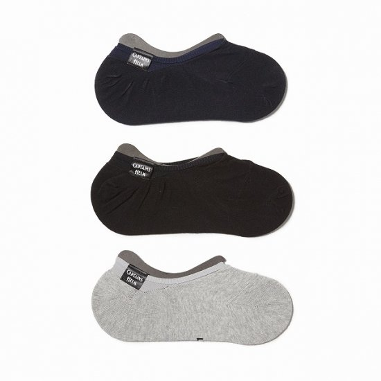 <img class='new_mark_img1' src='//img.shop-pro.jp/img/new/icons50.gif' style='border:none;display:inline;margin:0px;padding:0px;width:auto;' />CAPTAINS HELM  ×  gark #3PACK ANKLE SOCKS