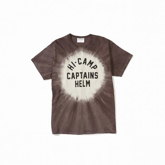<img class='new_mark_img1' src='//img.shop-pro.jp/img/new/icons50.gif' style='border:none;display:inline;margin:0px;padding:0px;width:auto;' />CAPTAINS HELM  #HI-CAMP TIE-DYE TEE
