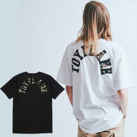 <img class='new_mark_img1' src='https://img.shop-pro.jp/img/new/icons50.gif' style='border:none;display:inline;margin:0px;padding:0px;width:auto;' />TOYPLANE S/S CAMO WAPPEN TEE
