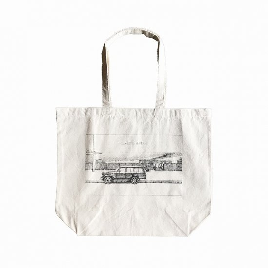 <img class='new_mark_img1' src='//img.shop-pro.jp/img/new/icons12.gif' style='border:none;display:inline;margin:0px;padding:0px;width:auto;' />CAPTAINS HELM × BANANA YAMAMOTO #CLASSIC BREAK TOTE BAG