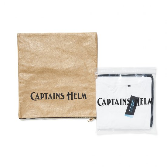 <img class='new_mark_img1' src='https://img.shop-pro.jp/img/new/icons16.gif' style='border:none;display:inline;margin:0px;padding:0px;width:auto;' />CAPTAINS HELM  #2PACK TEE -WHT/BLK