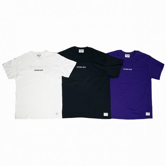 <img class='new_mark_img1' src='//img.shop-pro.jp/img/new/icons12.gif' style='border:none;display:inline;margin:0px;padding:0px;width:auto;' />CAPTAINS HELM  #TRADEMARK TEE
