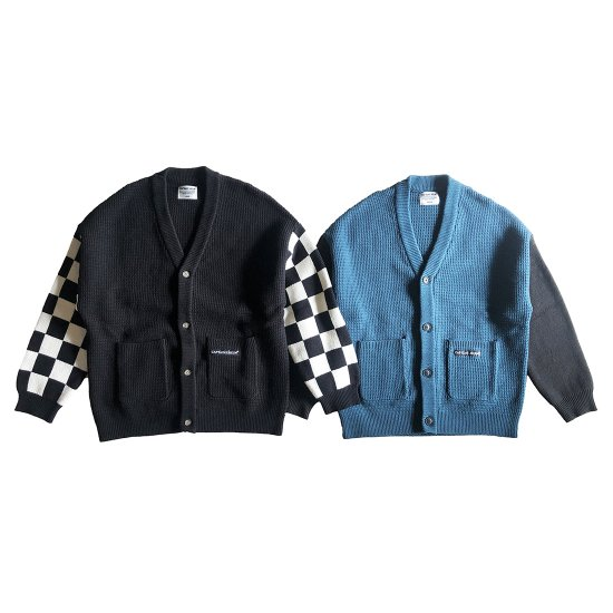 <img class='new_mark_img1' src='//img.shop-pro.jp/img/new/icons50.gif' style='border:none;display:inline;margin:0px;padding:0px;width:auto;' />CAPTAINS HELM  #BICOLOR CARDIGAN