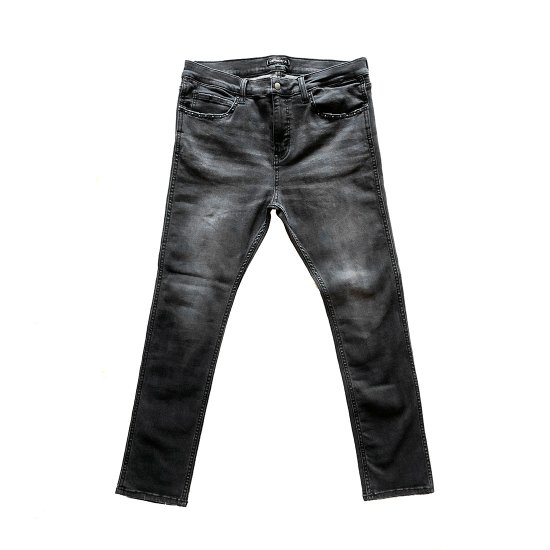 <img class='new_mark_img1' src='//img.shop-pro.jp/img/new/icons50.gif' style='border:none;display:inline;margin:0px;padding:0px;width:auto;' />CAPTAINS HELM  #NARROW ST BLACK DENIM PANTS -CUSTOM
