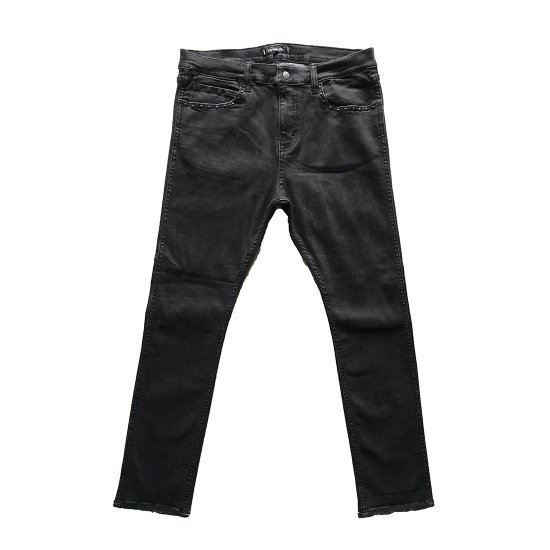<img class='new_mark_img1' src='//img.shop-pro.jp/img/new/icons50.gif' style='border:none;display:inline;margin:0px;padding:0px;width:auto;' />CAPTAINS HELM  ##NARROW ST BLACK DENIM PANTS