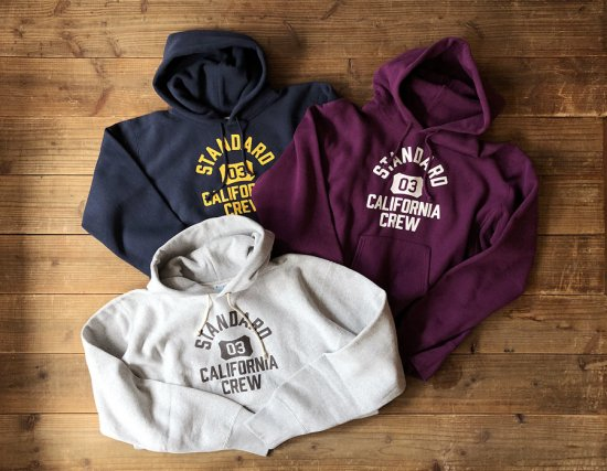 <img class='new_mark_img1' src='https://img.shop-pro.jp/img/new/icons50.gif' style='border:none;display:inline;margin:0px;padding:0px;width:auto;' />STANDARD CALIFORNIA Champion × SD Reverse Weave Hood Sweat