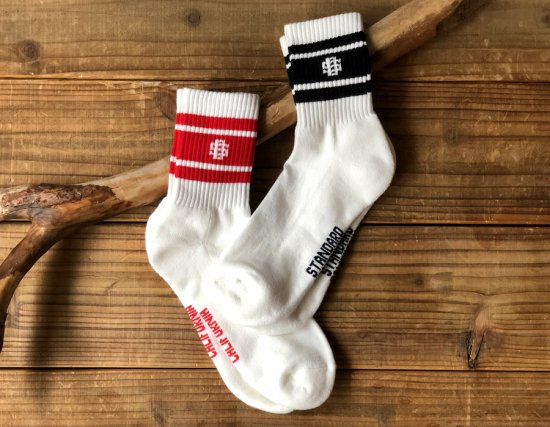 <img class='new_mark_img1' src='https://img.shop-pro.jp/img/new/icons50.gif' style='border:none;display:inline;margin:0px;padding:0px;width:auto;' />STANDARD CALIFORNIA SD Sports Socks-2P