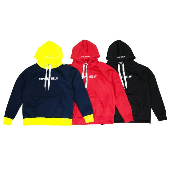 <img class='new_mark_img1' src='https://img.shop-pro.jp/img/new/icons50.gif' style='border:none;display:inline;margin:0px;padding:0px;width:auto;' />CAPTAINS HELM  #TRADEMARK TEC HOODIE