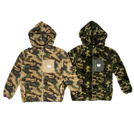 <img class='new_mark_img1' src='https://img.shop-pro.jp/img/new/icons50.gif' style='border:none;display:inline;margin:0px;padding:0px;width:auto;' />CAPTAINS HELM  #CAMO FLEECE HOOD JACKET