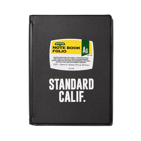 <img class='new_mark_img1' src='//img.shop-pro.jp/img/new/icons50.gif' style='border:none;display:inline;margin:0px;padding:0px;width:auto;' />STANDARD CALIFORNIA PENCO × SD A6 Note Book Folio
