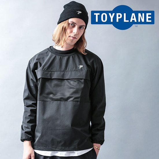 <img class='new_mark_img1' src='//img.shop-pro.jp/img/new/icons12.gif' style='border:none;display:inline;margin:0px;padding:0px;width:auto;' />TOYPLANE  WIND STOPER CREW NECK JACKET