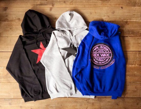<img class='new_mark_img1' src='https://img.shop-pro.jp/img/new/icons50.gif' style='border:none;display:inline;margin:0px;padding:0px;width:auto;' />STANDARD CALIFORNIA SEX WAX × SD Pullover Hood Sweat