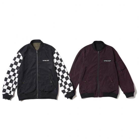 <img class='new_mark_img1' src='//img.shop-pro.jp/img/new/icons50.gif' style='border:none;display:inline;margin:0px;padding:0px;width:auto;' />CAPTAINS HELM  #REVERSIBLE NYLON JAKET
