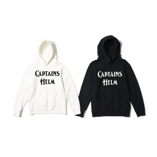 <img class='new_mark_img1' src='//img.shop-pro.jp/img/new/icons12.gif' style='border:none;display:inline;margin:0px;padding:0px;width:auto;' />CAPTAINS HELM  #BIG LOGO AUTHENTIC HOODIE