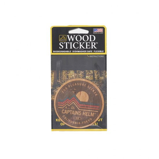 <img class='new_mark_img1' src='https://img.shop-pro.jp/img/new/icons12.gif' style='border:none;display:inline;margin:0px;padding:0px;width:auto;' />CAPTAINS HELM  DUST CITY x CHT #OUTDOOR LIFE WOOD STICKER