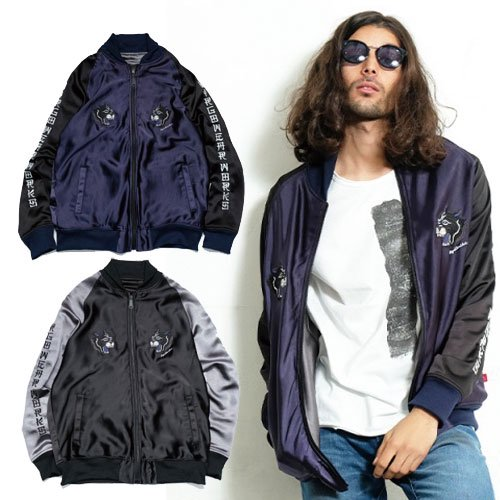 <img class='new_mark_img1' src='//img.shop-pro.jp/img/new/icons12.gif' style='border:none;display:inline;margin:0px;padding:0px;width:auto;' />VIRGO THUNDER PANTHER SOUVENIR JKT