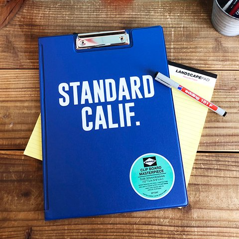 <img class='new_mark_img1' src='https://img.shop-pro.jp/img/new/icons50.gif' style='border:none;display:inline;margin:0px;padding:0px;width:auto;' />STANDARD CALIFORNIA PENCO × SD Clip Board