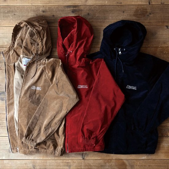 <img class='new_mark_img1' src='//img.shop-pro.jp/img/new/icons12.gif' style='border:none;display:inline;margin:0px;padding:0px;width:auto;' />STANDARD CALIFORNIA SD Stretch Corduroy Hood Harrington Jacket