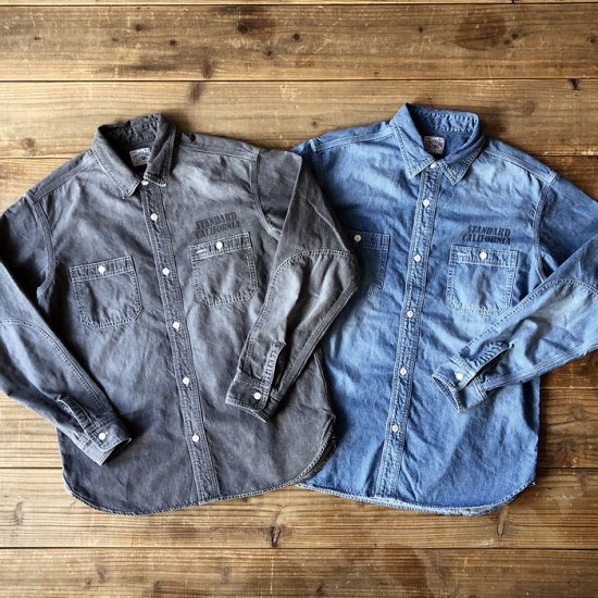 <img class='new_mark_img1' src='https://img.shop-pro.jp/img/new/icons16.gif' style='border:none;display:inline;margin:0px;padding:0px;width:auto;' />STANDARD CALIFORNIA SD Denim Work Shirt
