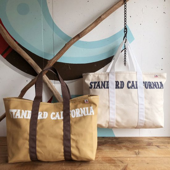 <img class='new_mark_img1' src='https://img.shop-pro.jp/img/new/icons50.gif' style='border:none;display:inline;margin:0px;padding:0px;width:auto;' />STANDARD CALIFORNIA SD Made in USA Swinging Canvas Tote Bag