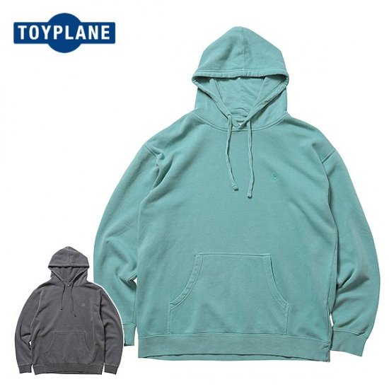 <img class='new_mark_img1' src='https://img.shop-pro.jp/img/new/icons50.gif' style='border:none;display:inline;margin:0px;padding:0px;width:auto;' />TOYPLANE  BIG SIZE PIGMENT DYE HOODY