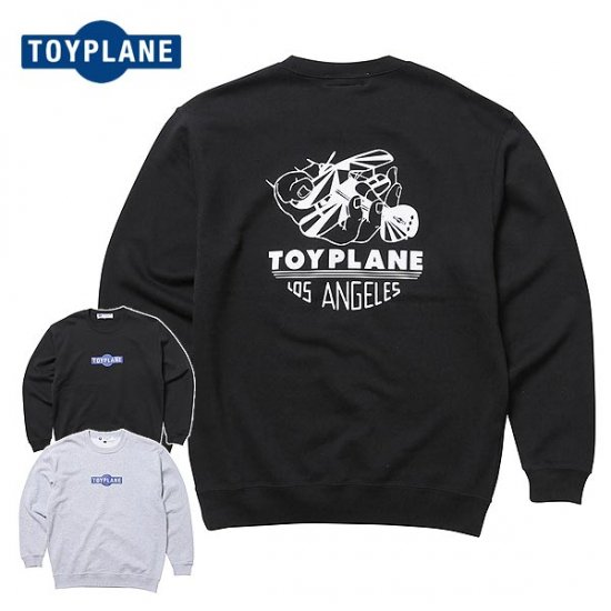 <img class='new_mark_img1' src='https://img.shop-pro.jp/img/new/icons12.gif' style='border:none;display:inline;margin:0px;padding:0px;width:auto;' />TOYPLANE  AERO TEAM CREW NECK SWEAT