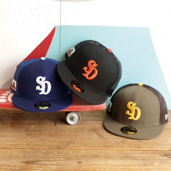 <img class='new_mark_img1' src='//img.shop-pro.jp/img/new/icons12.gif' style='border:none;display:inline;margin:0px;padding:0px;width:auto;' />STANDARD CALIFORNIA NEW ERA × SD 59 FIFTY Logo Mesh Cap