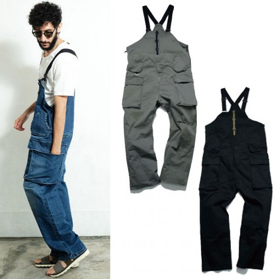 <img class='new_mark_img1' src='https://img.shop-pro.jp/img/new/icons50.gif' style='border:none;display:inline;margin:0px;padding:0px;width:auto;' />VIRGO DENIM CARGO OVERALLS