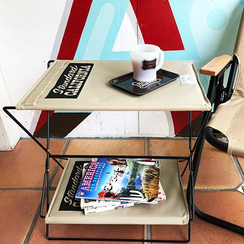 <img class='new_mark_img1' src='https://img.shop-pro.jp/img/new/icons50.gif' style='border:none;display:inline;margin:0px;padding:0px;width:auto;' />STANDARD CALIFORNIA SD Folding Table 送料込み(1500円)