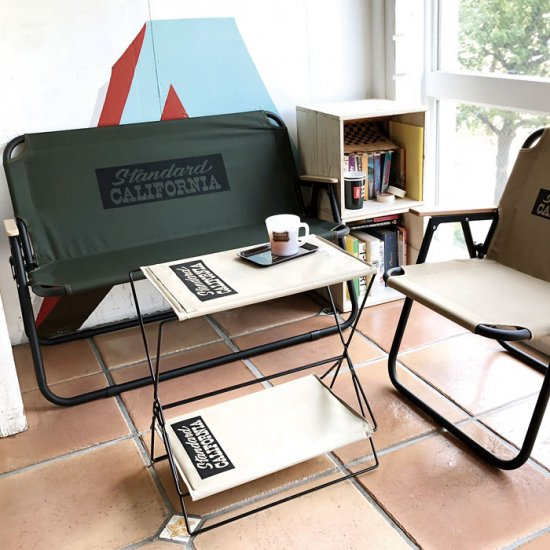 <img class='new_mark_img1' src='https://img.shop-pro.jp/img/new/icons50.gif' style='border:none;display:inline;margin:0px;padding:0px;width:auto;' />STANDARD CALIFORNIA SD Folding Chair Two-Seater 送料込み(2500円)