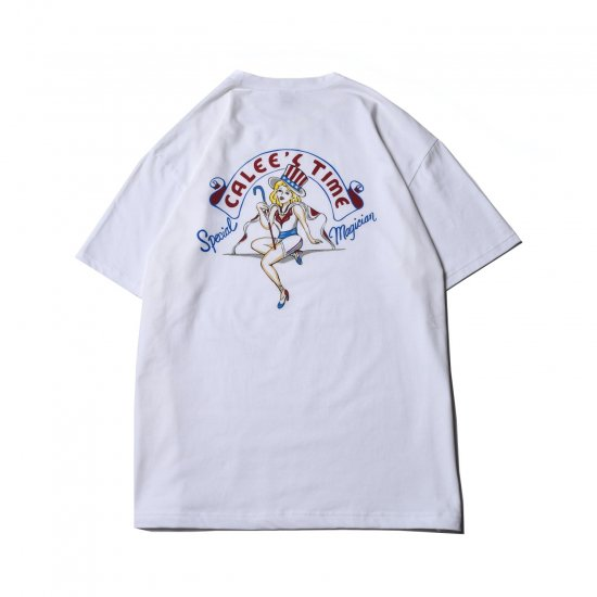 <img class='new_mark_img1' src='https://img.shop-pro.jp/img/new/icons50.gif' style='border:none;display:inline;margin:0px;padding:0px;width:auto;' />CALEE Calees time girl t-shirt